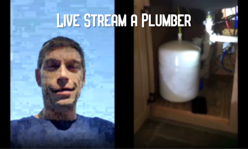 Live Stream with a Plumber